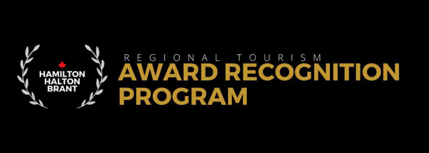 Hamilton Halton Brant Regional Tourism Association recognition awards logo