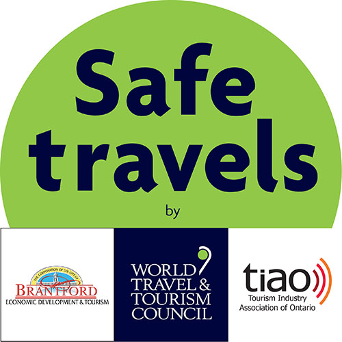 Tourism Brantford awarded the #SafeTravels Stamp
