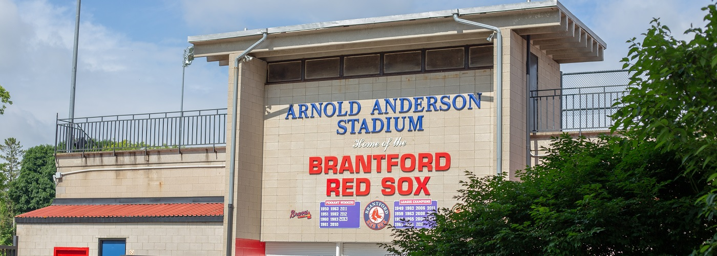 Arnold Anderson Stadium Sign